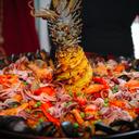 Cuba Libre seafood paella