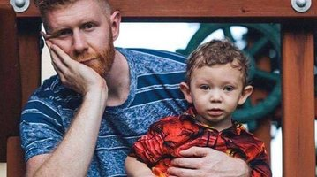 Brian Dwyer and Waldo Sept 2016
