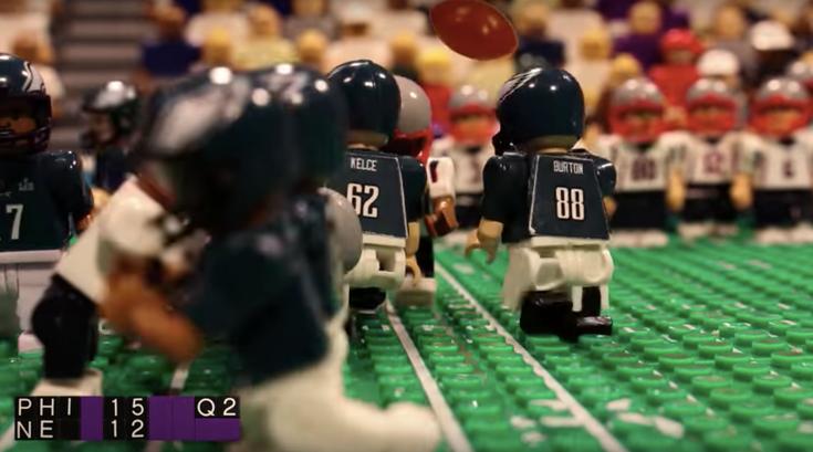 Eagles Super Bowl Legos thefourmonkeys