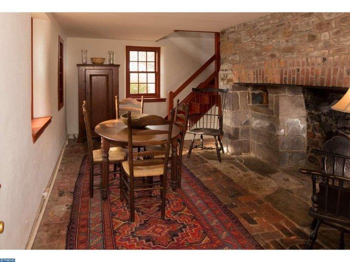 Estately Source Inside The 18th Century Farmhouse