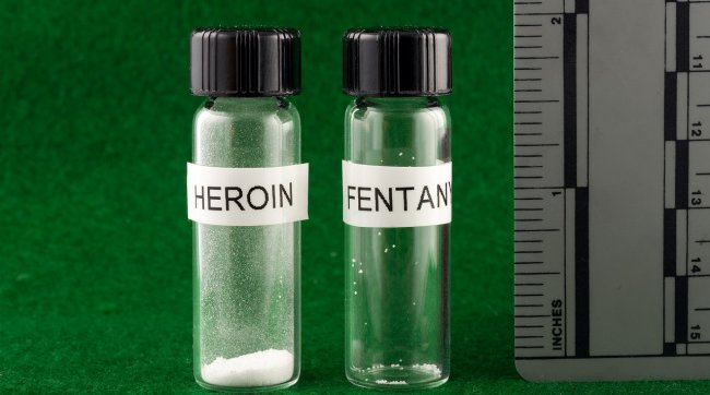 Fentanyl Heroin comparison