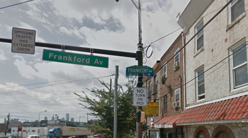 Frankford Avenue Sign