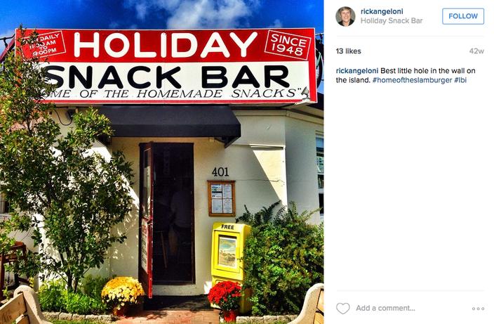 Holiday Snack Bar