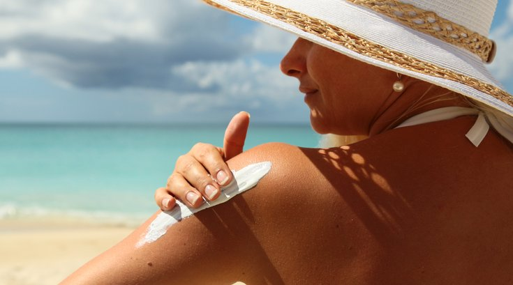 Skin cancer sunscreen