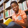 Kid reading