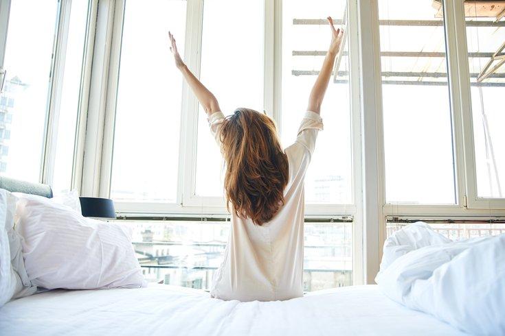 Waking up refreshed