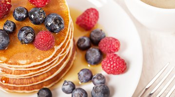 Pancakes at brunch