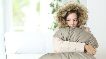 Woman warmly clothed