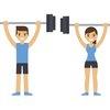 Workout Cartoon