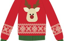 ugly sweater for Claridge