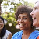 Mature Female Friends Socializing