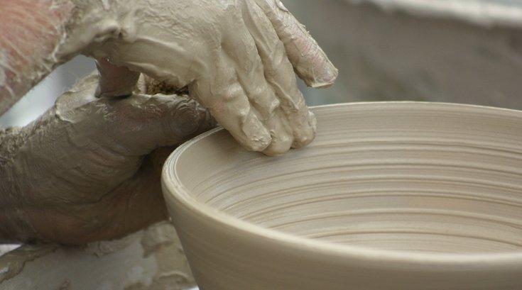 Clay wheel