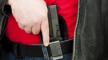 open carry handgun