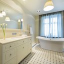 Bathroom with standalone tub
