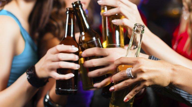 Women with beer