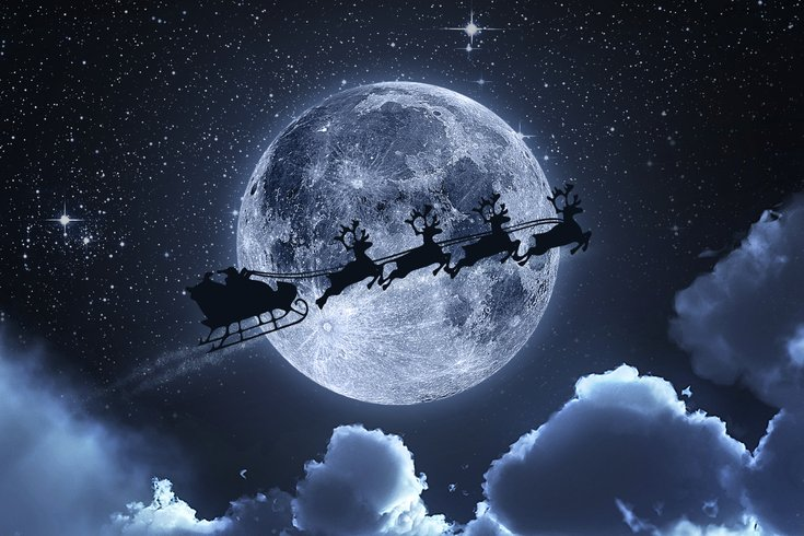 Full moon collides with Christmas Day for first time in decades ...
