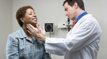 Preventive care check-up with doctor
