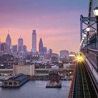 Philadelphia Skyline from Ben Franklin Bridge