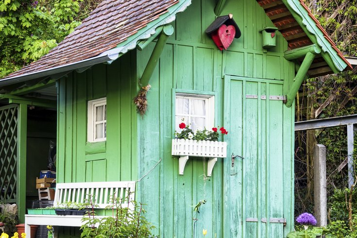 Man Cave Woman Shed : She sheds the man cave equivalent for women phillyvoice
