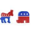 Donkey and Elephant Political Symbols