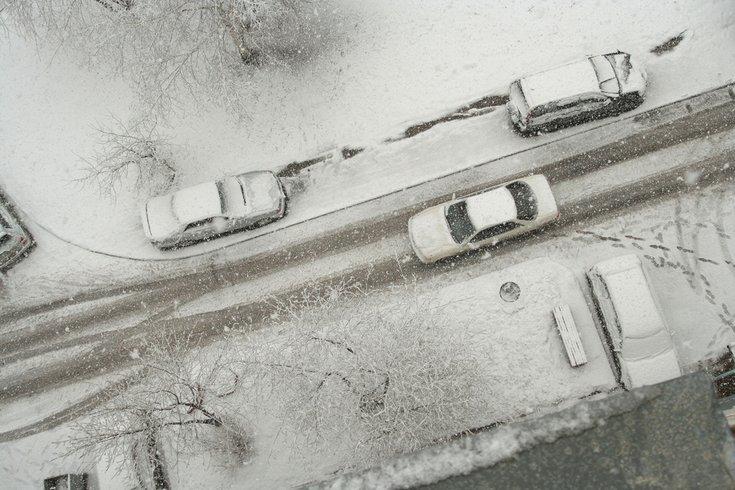 Snow Parking Spot
