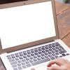 Laptop Computer Typing Stock