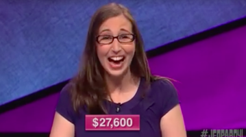 Jeopardy winner