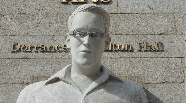 Edward Snowden Statue
