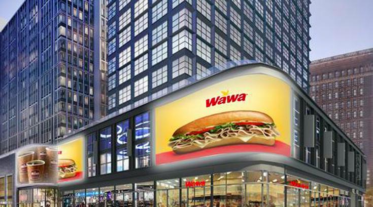 Market Street Wawa Rendering