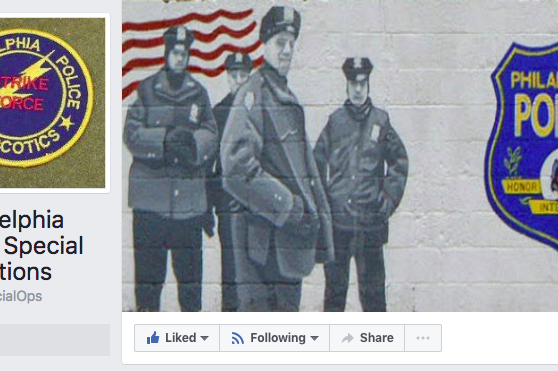 Philadelphia Police Special Operations Facebook