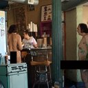 NakedManRocketCatCafe