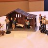 hipster nativity scene