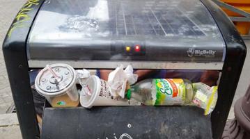 BigBelly Trash Can Philadelphia