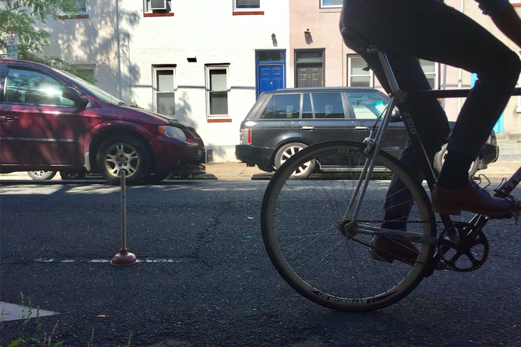 Plunger Bike Lane