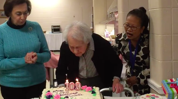 109-year-old Rosalie Esposito