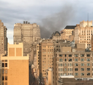 Firefighters Battle Blaze At Center City Apartment Building - Center city apartments