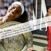 Serena Williams Womanhood
