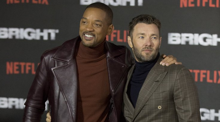 Bright - Will Smith and Joel Edgerton, USA Today/SIPA