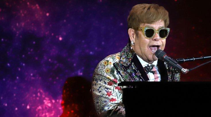 Elton John - sipa
