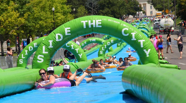 slide the city philly