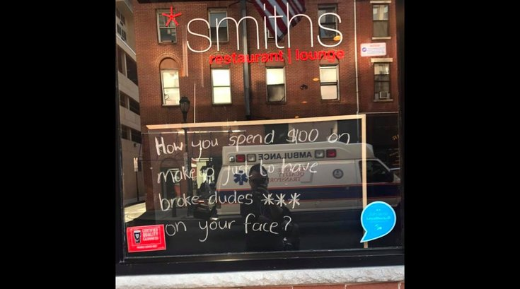 Smiths Bar Controversy
