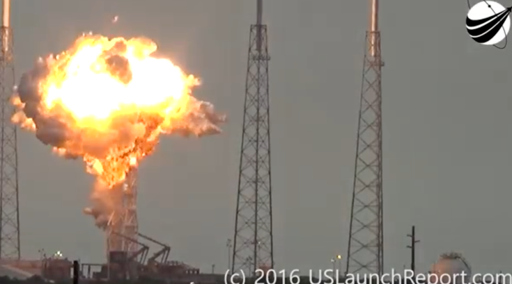 spacex facebook explosion