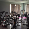 Spin class at The Wall Cycling Studio
