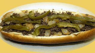 Dalessandro's cheesesteak