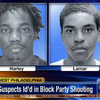 West Philly shooting suspects