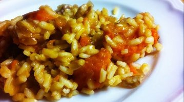 Sweet Potato Pecan Risotto