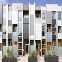 Thin flats facade