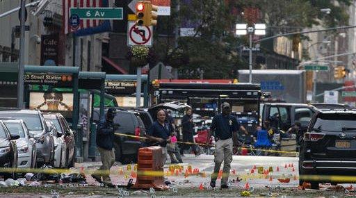 Manhattan Explosion-Blind Bystanders