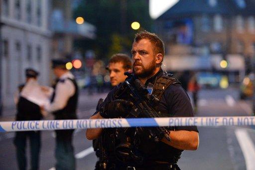 Britain Pedestrians Struck