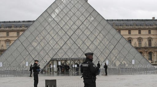 France Louvre Shooting